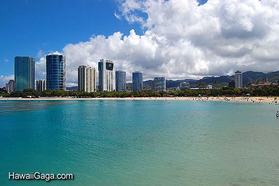 Ala Moana Beach Park Oahu