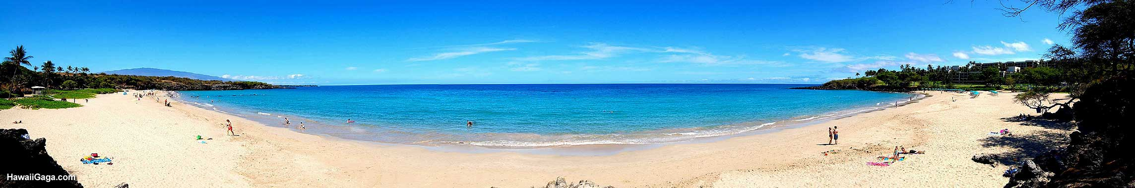 Hapuna Beach panorama