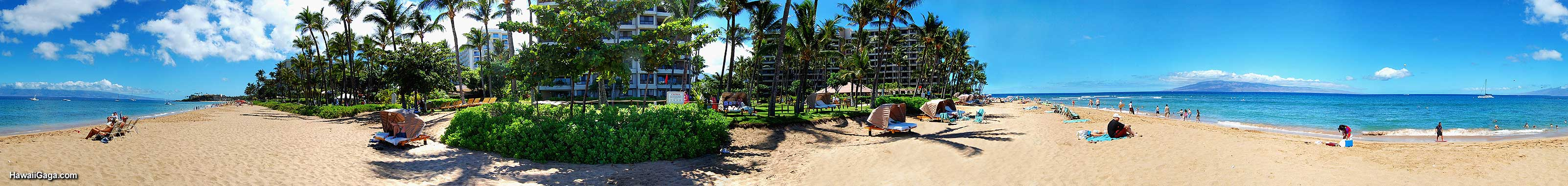 Kaanapali Beach panorama