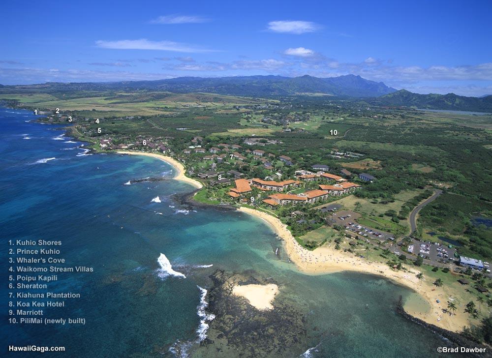 Kiahuna Plantation, Kauai on