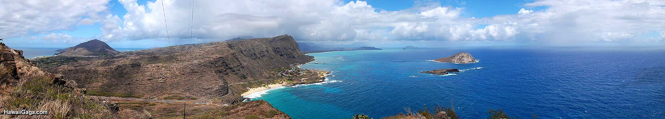 Makapuu Lookout panorama
