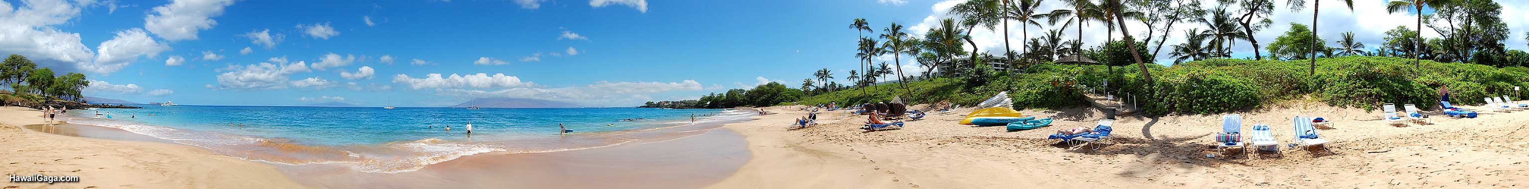 Maluaka Beach panorama