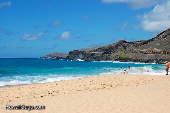sandy beach oahu sandy beach 570x380