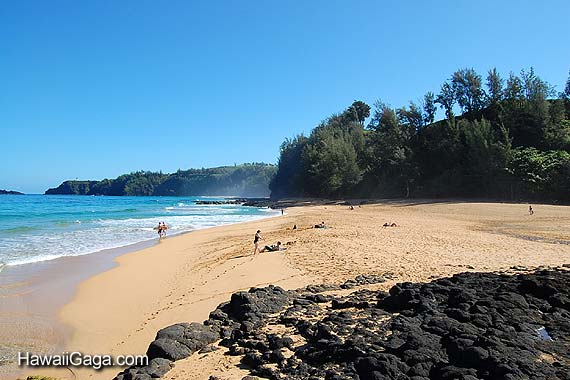 Kauai nude beach