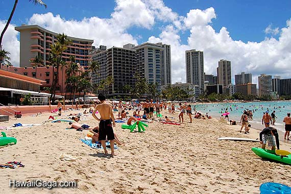 Waikiki Hotels Map Waikiki Beach Central Map And