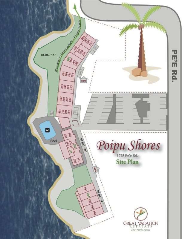 Poipu Shores 102A