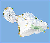 Interactive Map for Maui