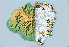 hawaii maps