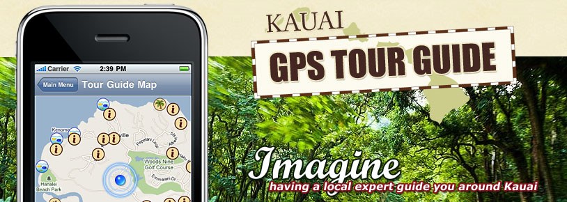 Kauai GPS Tour Guide iPhone app